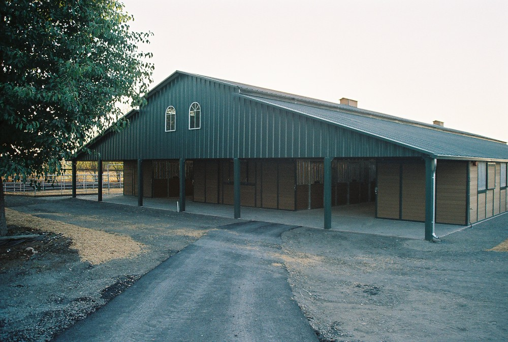 Raised Breezeway Barn Sc Barns